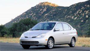 Toyota Prius gen 1 Mauritius